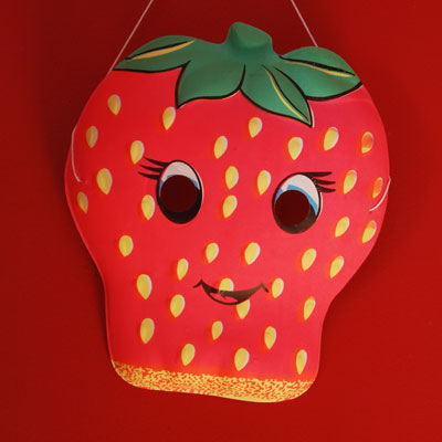 Maskstrawberry