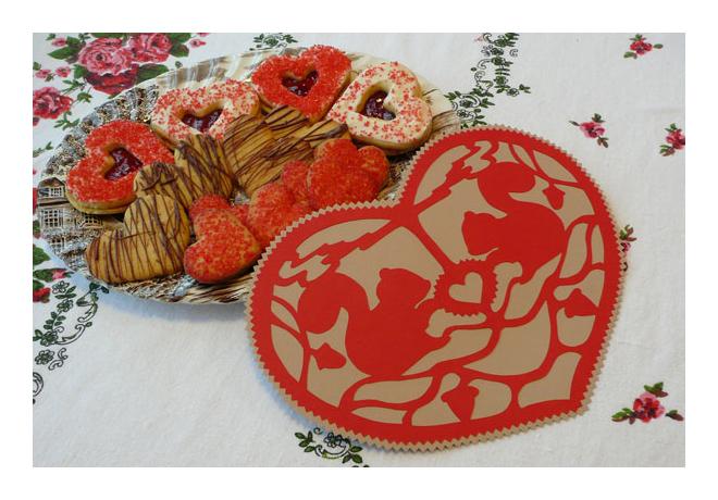 Valentineandcookies