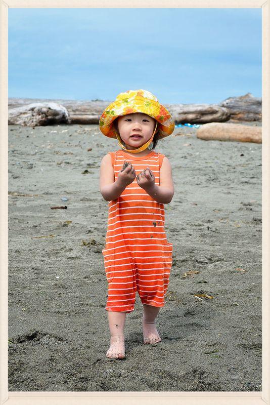 Viv at the beach